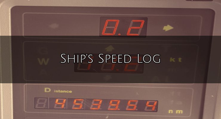 Ship's Speed Log